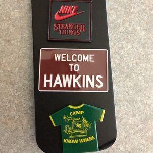 Nike X Stranger Things Pin Set 3 Pins